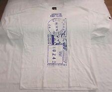 True Clothing graphic t-shirt men sz 2XL presorted first-class blue/white 10 yrs