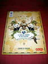 ALBUM IL GIRO DEL MONDO IN 180 FIGURINE COOP 2012 COMPLETO + PANINI