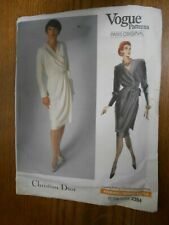 New ListingVintage Vogue Paris Original 2384 Christian Dior Sewing Pattern Dress sz 12
