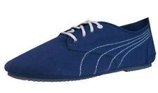 Scarpe da ginnastica PUMA blu con tela per donna