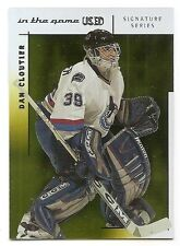 03/04 ITG USED SIGNATURE SERIES GOLD PARALLEL Dan Cloutier #91