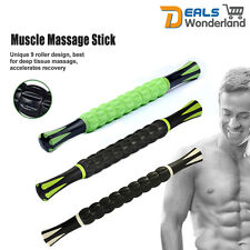 Trigger Point Self Massage Roller Stick Therapy Tool Body Muscle Relief Travel
