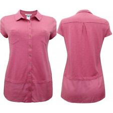 EX WHITE STUFF Pink Melinka Top 10,12,14. 100% Cotton, Cap Sleeves, Jersey