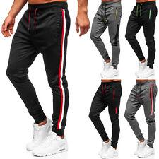 Sporthose Jogger Trainingshose Casual Fitness Classic Herren Mix BOLF Unifarben