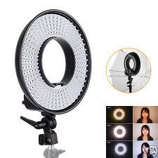 US Warehouse 300pcs LED 3000K-7000K FalconEyes DVR-300DVC Video Ring Light