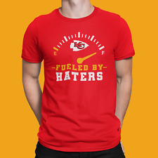 Red Kc Chiefs Fueled by Haters Shirt, Kansas City Chiefs Football Mahomes Tyreek