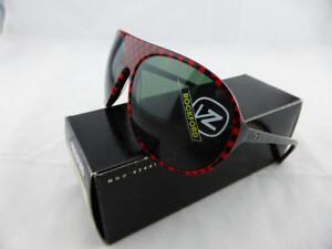 Von Zipper ROCKFORD Sunglasses Black Red - Grey Lens SMFFQROC_BRE
