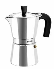 MONIX 3935006 italiano stove Top cafetera 3-Cup