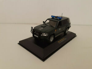 1/43 IXO ALTAYA 1/43 NISSAN PATROL GR G.A.R. GUARDIA CIVIL 2005 STOCKS_ELGUAJE