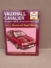 haynes owners workshop manual vauxhall cavalier 1988 - 1995