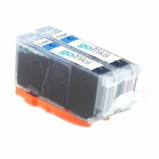 2 Cyan Ink Cartridges for Canon PIXMA MG8250, MX715, MX885, MX895