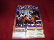 INVASOR WINS BREEDERS CUP CLASSIC-THOROUGHBRED TIMES NOVEMBER 11, 2006-VG+!