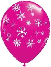 Ballons de fête roses noël pour la maison