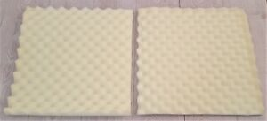 Egg Crate Foam Offcuts / Square Pieces  (Slight Seconds)