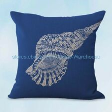US SELLER, cheap home decor ideas costal beach marine seashell cushion cover