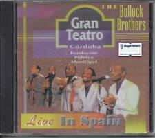 BULLOCK BROTHERS  Live In Spain  New Sealed Gospel CD  rare OOP HTF  15 songs.