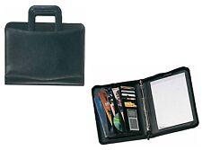 Cartella porta documenti 12 scomparti + anelli compreso scomparto carte credito