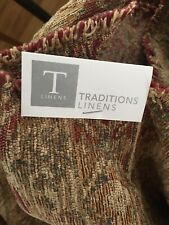 Traditions Linen Fabric Textile Chenille 2 Two Yards