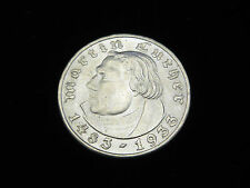 Stempelglanz Münzen des Dritten Reichs aus Silber