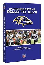 BALTIMORE RAVENS NFL DVD 47 XLVII Road to the Super Bowl full game new UK post