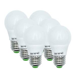 12V Low Voltage Lamp 3W (~40W) Edison LED Light Bulbs E27 Warm White 3000K 6pack