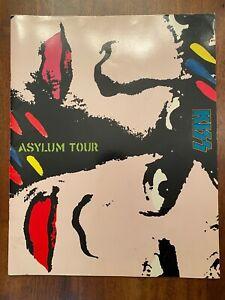 Kiss Asylum Tour Book 1986