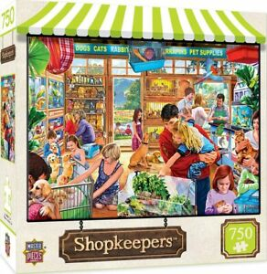 MasterPieces Shopkeepers Jigsaw Puzzle, Lucy's First Pet, 750 Pieces