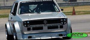 1975-1984 Volkswagen Rabbit Showcars Burg Cup Road Race Front Air Dam