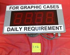 American Ledgible Electronic Display LED Counter Display AF-2645-314