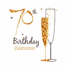 70th Birthday Invitations Ebay