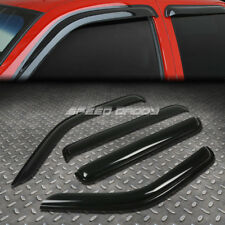 FOR 07-11 DODGE NITRO SUV SMOKE TINT WINDOW VISOR/WIND DEFLECTOR VENT RAIN GUARD