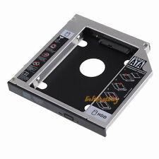 SATA 2nd HDD HD Hard Driver Caddy for 12.7mm Universal CD / DVD-ROM Optical Bay