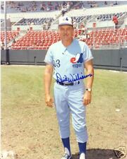 DICK WILLIAMS  MONTREAL EXPOS SIGNED 8X10 PHOTO W/COA
