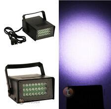 Mini DJ Strobe Light Flash Light 24 LED Bulb Club Stage Lighting Party Disco New