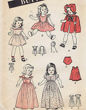"3626 Vintage Chubby Doll Pattern - Size 14"" - Year 1952"