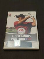 """NINTENDO Wii """"Tiger Woods PGA Tour 08"""" (2007) Complete With Manual TESTED"""