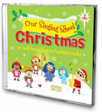CHRISTMAS Our Singing School BACKING TRACKS 2 CD SET Carol Songs Singalong