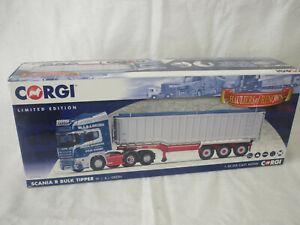 Corgi Modern Truck/Haulage CC13764 Scania Topline Tipper Trailer J.W & J Green