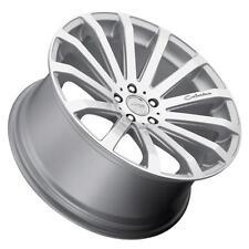 MRR HR9 19x8.5 5x114.3 Silver Wheels Rims (Set of 4)