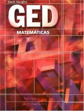 GED Matematicas  (Spanish) (Spanish Edition) by Steck-Vaughn Company