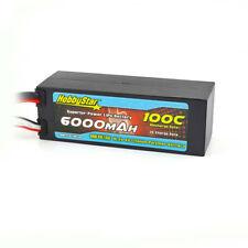 HobbyStar 6000mAh 4S 15.2V HIGH-VOLTAGE HV 100C Hardcase LiPo Battery XT90
