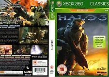 Halo 3 Xbox 360-Classic Best Sellers Edition Juego-Excelente Estado