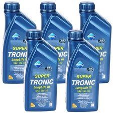 5 Liter ARAL SUPER TRONIC 5W-30 LONGLIFE III VW 50400 50700 BMW LL-04 MB 229.51