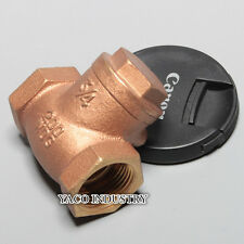 "Brass Swing check valve 3/4"" NPT 300PSI Pump no return single direction, Florida"