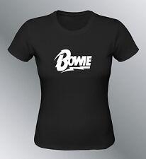 Tee shirt personnalisé femme David Bowie chanteur singer star