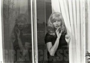 MONICA VITTI AT HOME 1963 BEAUTIFUL CAMERA NEGATIVE PETER BASCH