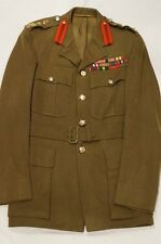 WW2 Canadian Generals Service Dress Jacket Uniform Named TP Doucet