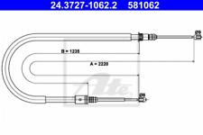 Seilzug, Feststellbremse für Bremsanlage ATE 24.3727-1062.2