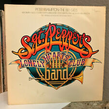 """SGT PEPPERS LONELY HEARTS Movie Soundtrack (BeeGees) - 12"""" Vinyl Record LP - VG"""