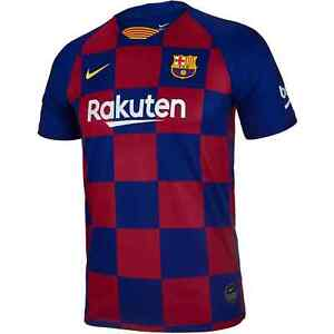 Nike 2019-20 FC Barcelona Soccer Jersey Barca AJ5801-457 Size YOUTH LARGE